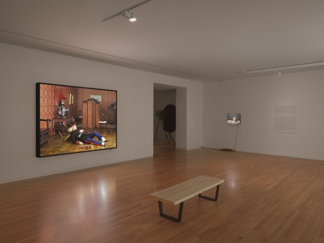 Rodney Graham, Canadian Humourist, Installation view: Vancouver Art Gallery, 2012