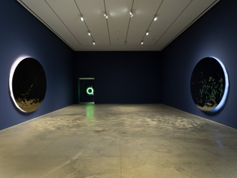 Installation view: Jeppe Hein,I AM WITH YOU, 303 Gallery, New York, 2019, Photo: John Berens