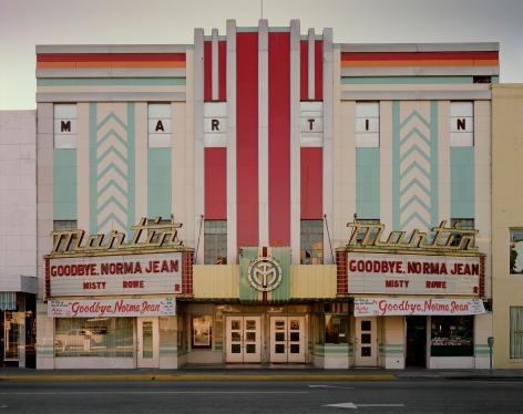 Stephen Shore, Martin Theatre, Harrison Avenue, Panama City, Florida, February 4, 1976