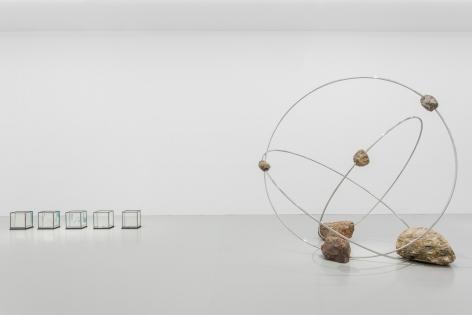 Alicja Kwade, Installation view: ReReason, Yuz Museum, Shanghai, 2017