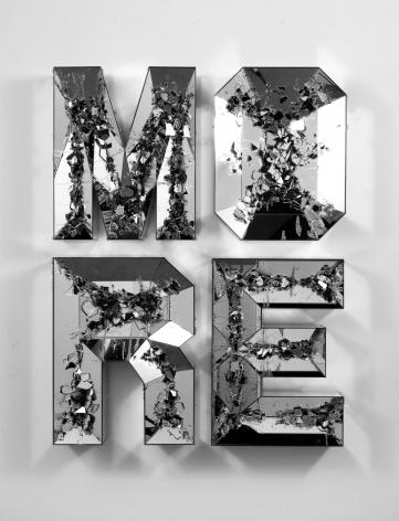 Doug Aitken, MORE (shattered pour), 2013