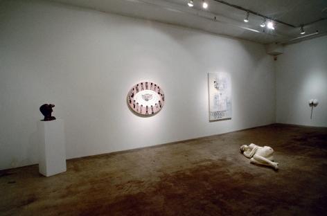 Sue Williams, Installation view: 303 Gallery, 1992