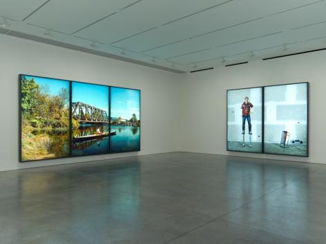 Rodney Graham, Installation at 303 Gallery, 2013