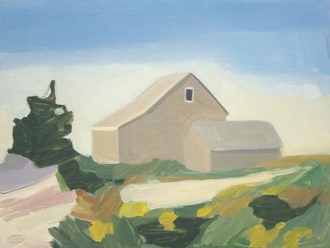 Maureen Gallace, Summer House / Dunes, 2009