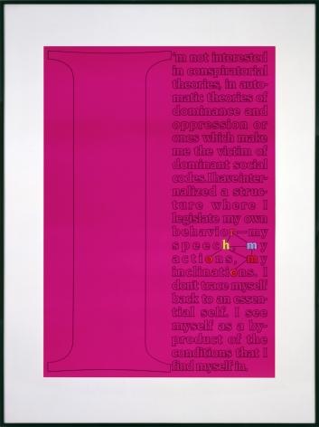 Larry Johnson, Untitled (Sampler), 1989