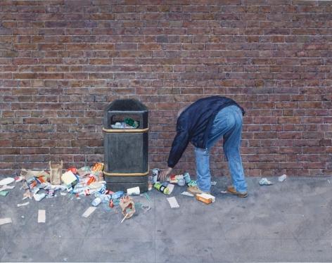 Tim Gardner, Untitled (Man looking for beer), 2009