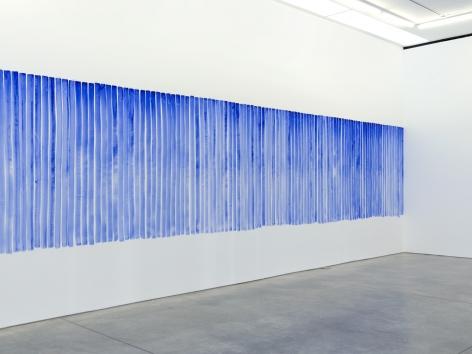 Jeppe Hein, Breathing Watercolours (Wallpaper), 2015