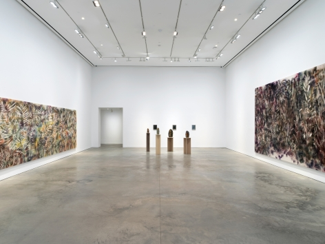Exhibition view: Sam Falls, 303 Gallery, New York, 2018