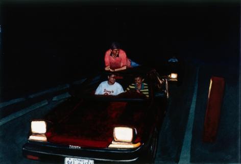Tim Gardner, Untitled (Taco Bell drive-thru, 1999