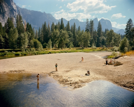 Stephen Shore, Merced River, Yosemite National Park, California, August 13, 1979