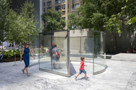 Dan Graham,Child's Play,2016, Installation view: The Museum of Modern Art, 2017