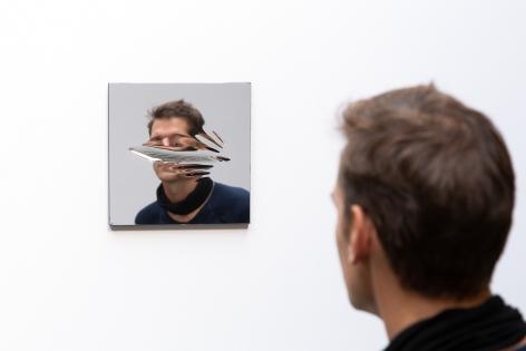 Jeppe Hein, My Mirror #13