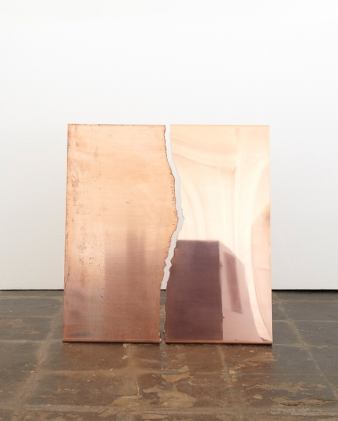 Sam Falls, Untitled (Copper Tear, 7), 2012