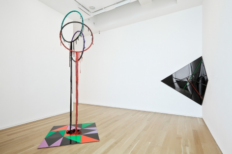 Eva Rothschild, Installation view: Dublin City Gallery, The Hugh Lane, 2014