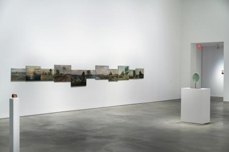 Installation view:Alien Landscape, 303 Gallery, New York,July 14 – August 21, 2020,