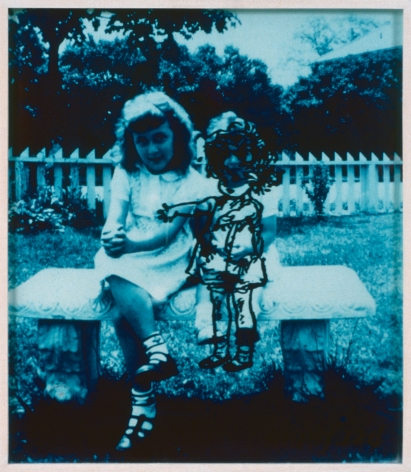 Collier Schorr, Portrait of Mother Progressing, 1990
