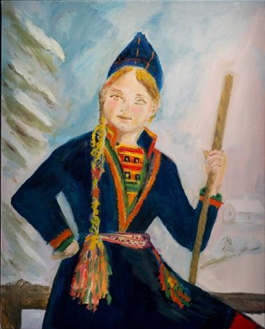 Karen Kilimnik, our long lost relatives! the saami  of norhtern sweden, finland and norway, 2013