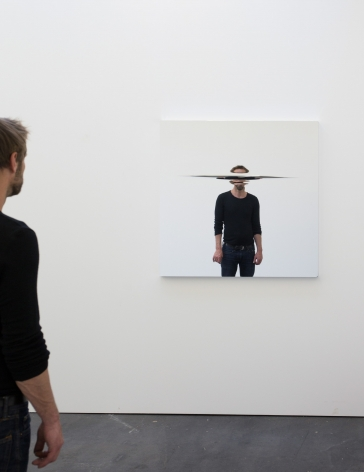 Jeppe Hein, Horizontal Cut, 2016
