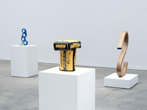 Matt Johnson, Installation view: Wood Sculpture, 303 Gallery, 2017