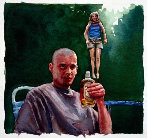 Tim Gardner, Untitled (Sto with Girl and Liquor), 1999