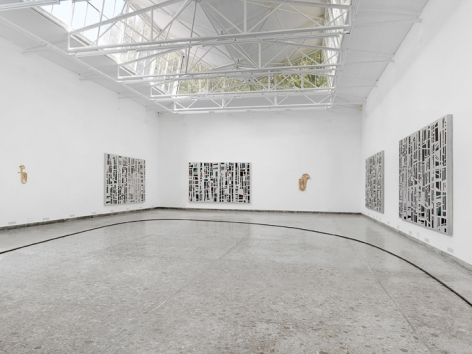 Valentin Carron, Installation view: 55th International Art Exhibition, La Biennale de Venezia, Swiss Pavilion, 2013