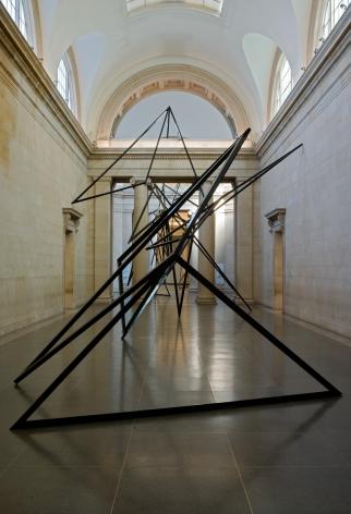 Eva Rothschild, Installation view, Tate Britain, 2009