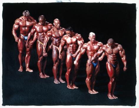 Tim Gardner, Untitled (Bodybuilders), 2002
