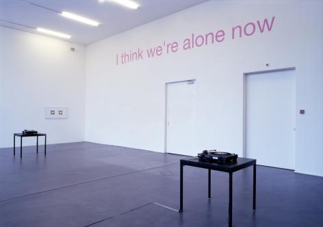 Rodney Graham, Installation view: Music and Noise, Kunsthalle Zürich, 2002