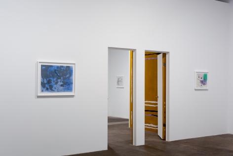 Nick Mauss, Installation view:Perforations