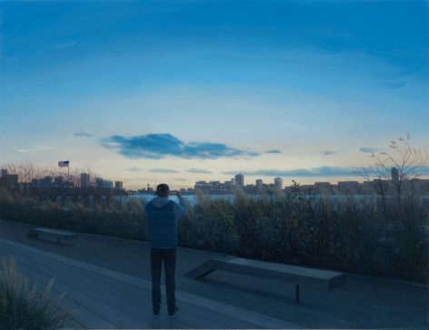 Tim Gardner, Highline Dusk, 2017