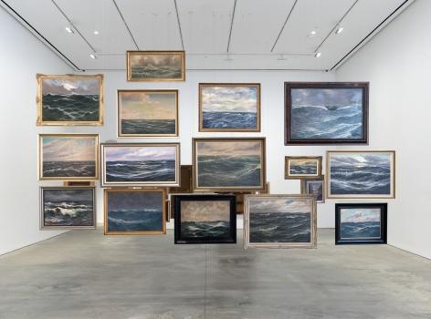 Hans-Peter Feldmann, Sea Paintings