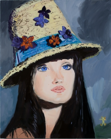 Karen Kilimnik, Clara, the witch in the English countryside, 2009