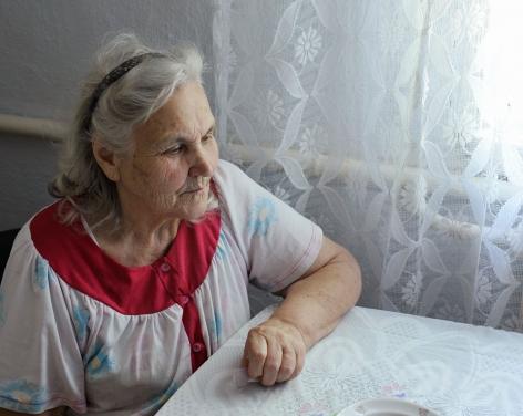 Stephen Shore, Alexandra Futeran, Tomashpol, Ukraine, July 25, 2012