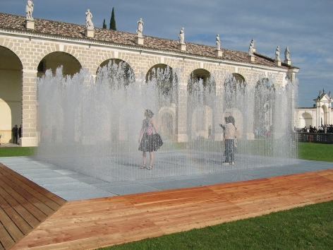 Jeppe Hein, Appearing Rooms, 2004