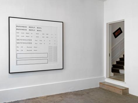 Larry Johnson, Installation view: On Location, Raven Row, London, 2015
