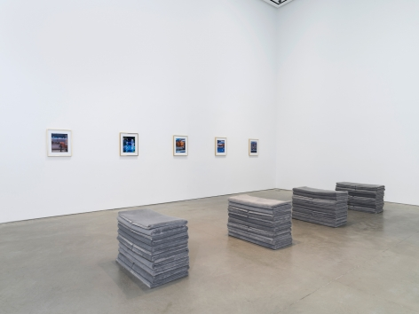 Installation view: Elad Lassry, 303 Gallery, New York, 2019
