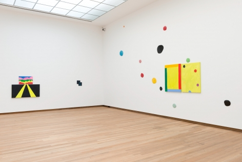 Installation view Mary Heilmann