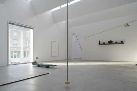 Installation view: Katinka Bock - Sonar / Tomorrow's Sculpture