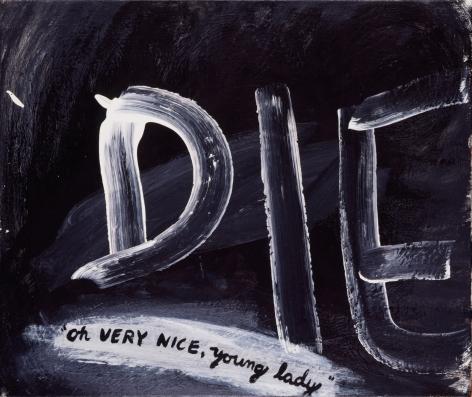 Sue Williams, Die, 1992