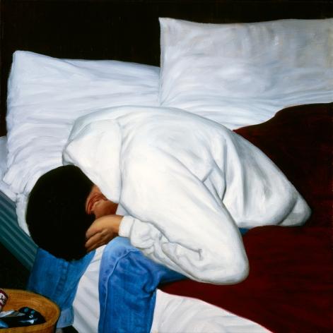Tim Gardner, Untitled (Nick with head in hands), 1999