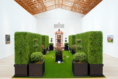 Karen Kilimnik, Installation view: The Brant Foundation Art Study Center, Greenwich, Connecticut, 2012