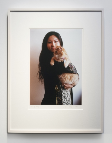 Dan Graham, Wendy with Cat, 1996