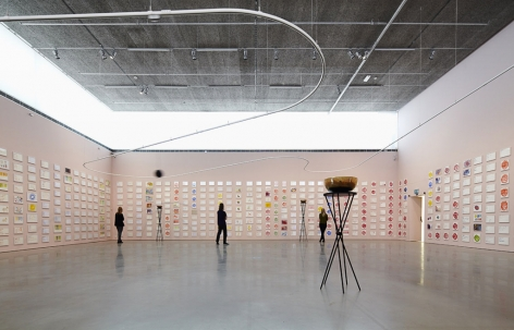 Jeppe Hein, Installation view: A Smile For You, Bonniers Konsthall, Stockholm, 2013