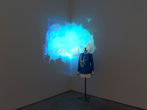 Dominique Gonzalez-Foerster, Ludwig II (M.2062), 2013, Installation at 303 Gallery, 2014