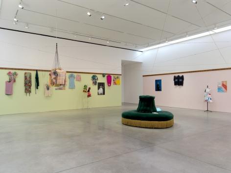 Dominique Gonzalez-Foerster, euqinimod & costumes, 2014, Installation at 303 Gallery, 2014