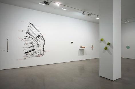 """Mary's Choice,"" 303 Gallery, New York, 2009.  Curated by Mary Heilmann"