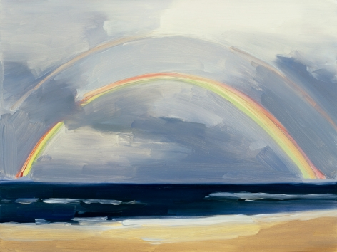 Maureen Gallace, Summer Rainbow, Cape Cod, 2006
