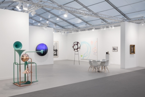 Frieze London, 2016, 303 Gallery, Booth F4