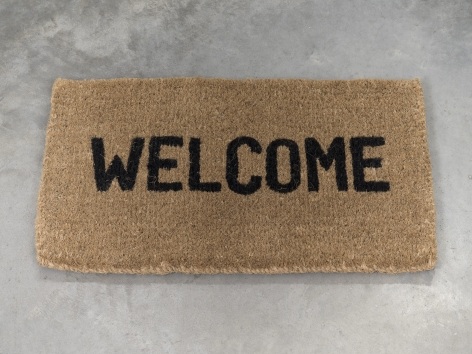 Ceal Floyer, Welcome, 2011