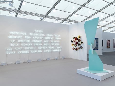 Frieze New York, 2017, 303 Gallery, Booth C58
